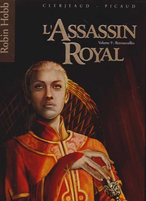 Couverture L'assassin Royal (BD), tome 09 : Retrouvailles