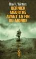 Couverture Dernier meurtre avant la fin du monde, tome 1 Editions 10/18 2016
