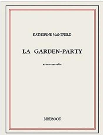 Couverture La Garden-Party et autres nouvelles