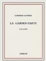 Couverture La Garden-Party et autres nouvelles Editions Bibebook 2015