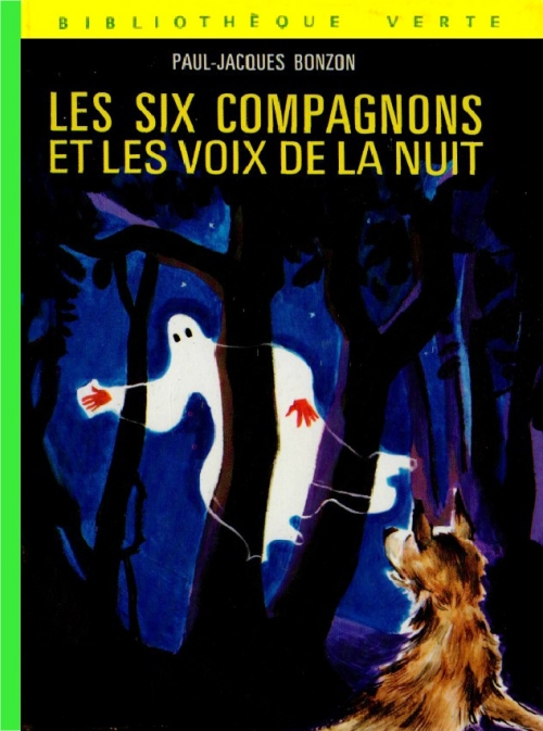 Couverture Les Six Compagnons et les voix de la nuit