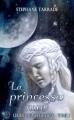 Couverture Les Royaumes de Lune, tome 2 : La princesse nue Editions Sharon Kena 2016