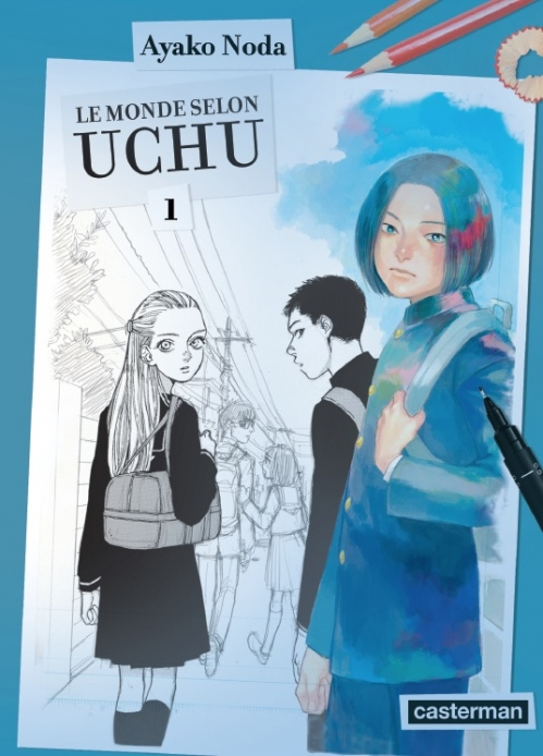 Couverture Le monde selon Uchu, tome 1