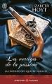 Couverture La légende des quatre soldats, tome 1 : Les vertiges de la passion Editions J'ai Lu 2016
