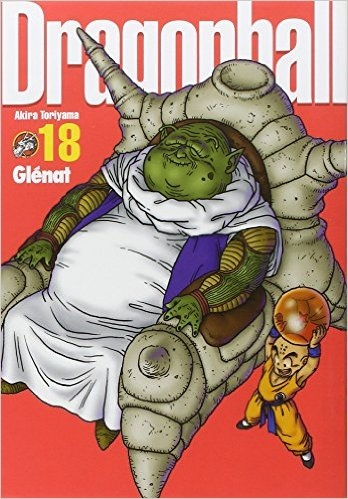 Couverture Dragon Ball, perfect, tome 18