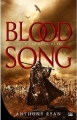 Couverture Blood song, tome 3 : La reine de feu Editions Bragelonne 2016
