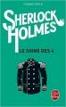 Couverture Sherlock Holmes, tome 2 : Le signe des quatre / Le signe des 4 Editions Le Livre de Poche 2015