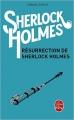 Couverture Résurrection de Sherlock Holmes / Le Retour de Sherlock Holmes Editions Le Livre de Poche 2015