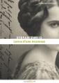Couverture Lettre d'une inconnue Editions Numeriklivres 2013