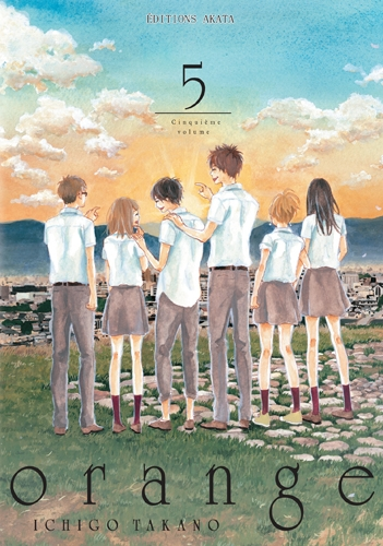 Couverture Orange, tome 5