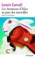 Couverture Alice au pays des merveilles / Les aventures d'Alice au pays des merveilles Editions Folio  (Classique) 2005