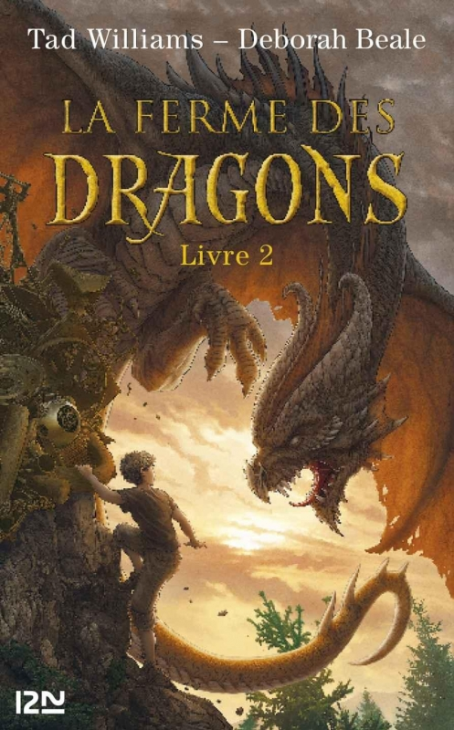 Couverture La Ferme des Dragons, tome 2