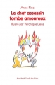Couverture Le chat assassin tombe amoureux Editions L'école des loisirs (Mouche) 2016