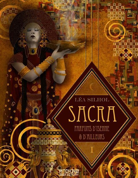 Couverture Sacra : Parfums d'Isenne et d'Ailleurs, tome 1 : Aucun coeur inhumain