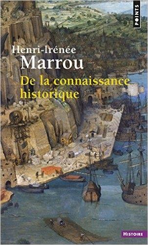 Couverture De la connaissance historique