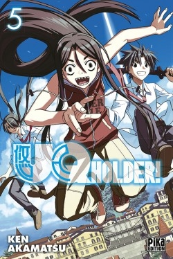 Couverture UQ Holder !, tome 05
