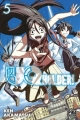 Couverture UQ Holder !, tome 05 Editions Pika 2015