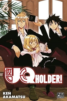 Couverture UQ Holder !, tome 06