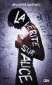 Couverture La vérité sur Alice Editions 12-21 2016