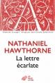Couverture La lettre écarlate Editions Les belles lettres (Domaine étranger) 2012