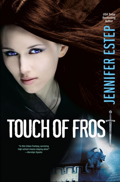 Couverture Mythos Academy, book 1: Touch of Frost