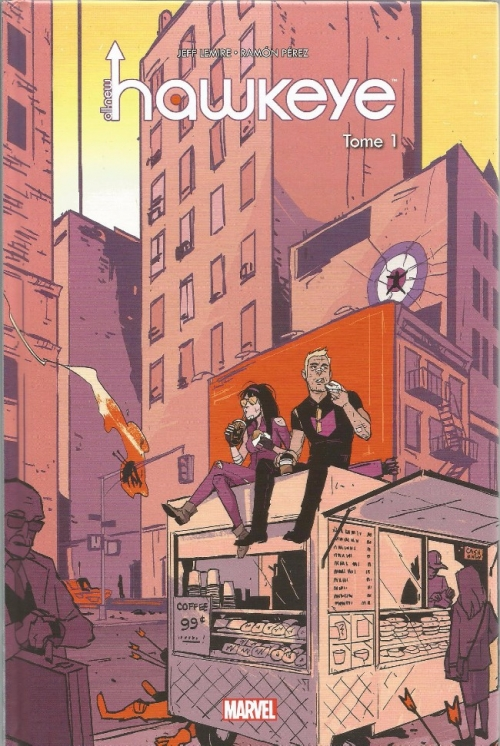 Couverture All-New Hawkeye, tome 1 : Wunderkammer