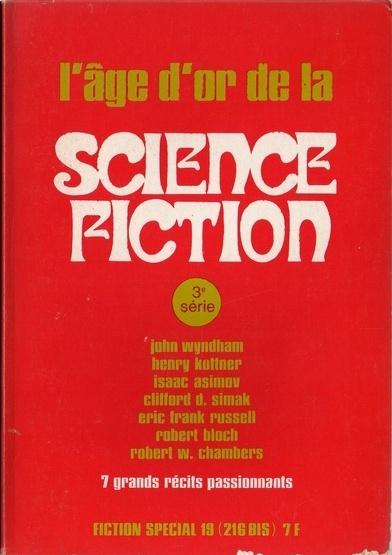 Couverture Fiction Spécial 19 : L'âge d'or de la science-fiction