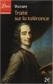 Couverture Traité sur la tolérance Editions Librio (Philosophie) 2015
