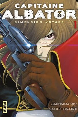 Couverture Capitaine Albator : Dimension voyage, tome 1