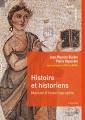 Couverture Histoire et historiens Editions Hachette (Carré histoire) 2015