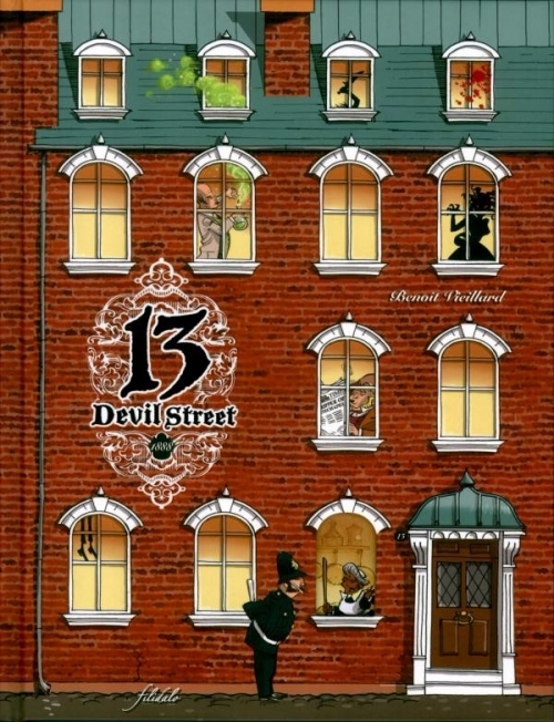 Couverture 13 Devil Street