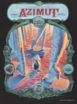 Couverture Azimut, tome 3 : Les anthropotames du Nihil