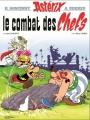 Couverture Astérix, tome 07 : Le combat des chefs Editions Dargaud 1987
