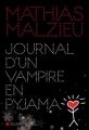 Couverture Journal d'un vampire en pyjama Editions Albin Michel 2016