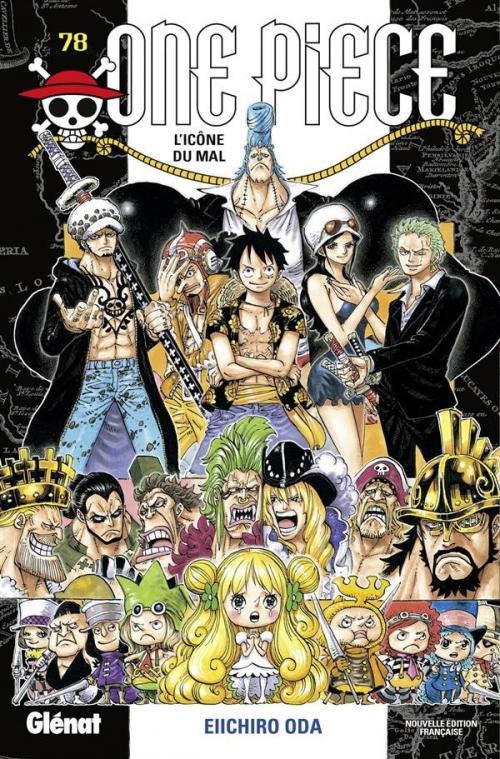 Couverture One Piece, tome 78 : L'icône du mal