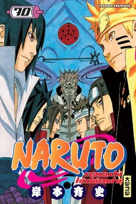 Couverture Naruto, tome 70