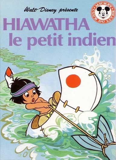 Couverture Hiawatha le petit indien