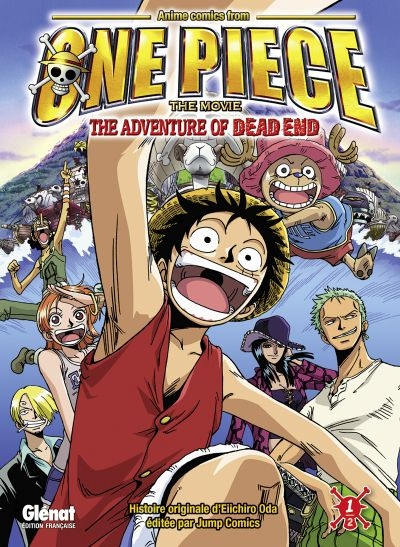 Couverture One Piece : The Adventure of Dead End, tome 1