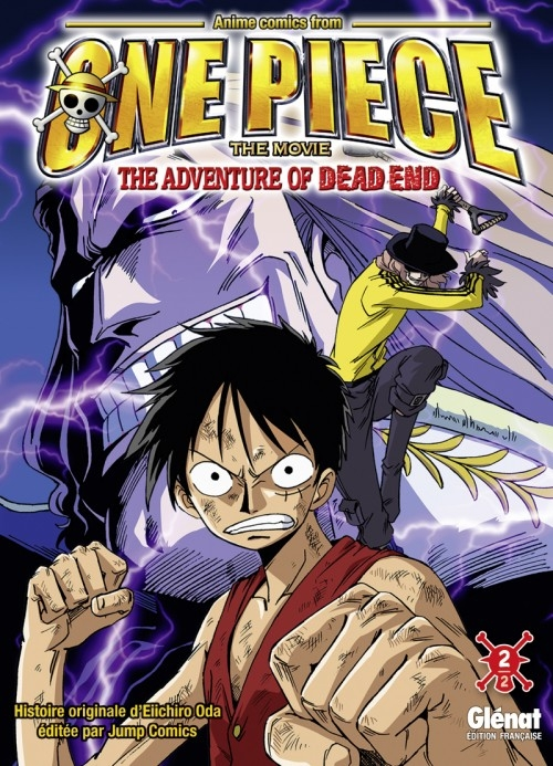 Couverture One Piece : The Adventure of Dead End, tome 2