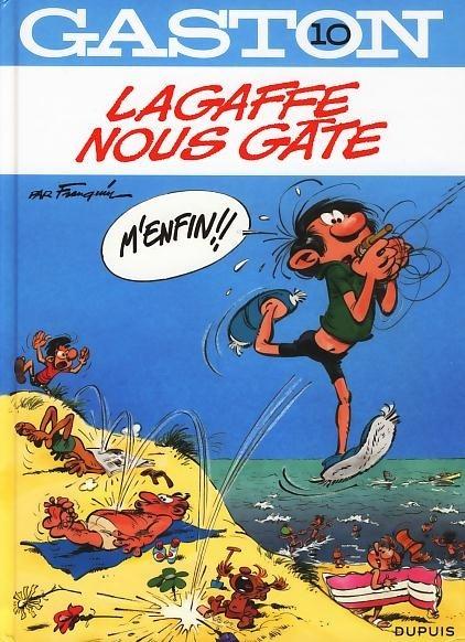 Couverture Gaston, tome 10 : Lagaffe nous gâte