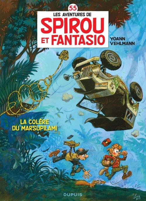 Couverture Spirou et Fantasio, tome 55 : La colère du Marsupilami