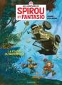 Couverture Spirou et Fantasio, tome 55 : La colère du Marsupilami Editions Dupuis 2016