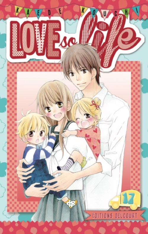 Couverture Love so life, tome 17