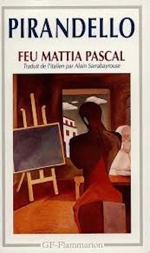 Couverture Feu Mattia Pascal / Feu Mathias Pascal