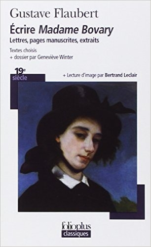 Couverture Écrire Madame Bovary