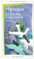 Couverture La double inconstance Editions Flammarion (GF) 1996