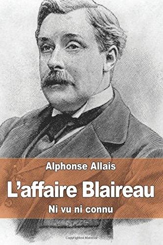 Couverture L'affaire Blaireau : Ni vu, ni connu