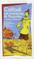 Couverture Pinocchio Editions Flammarion (GF - Bilingue) 2001