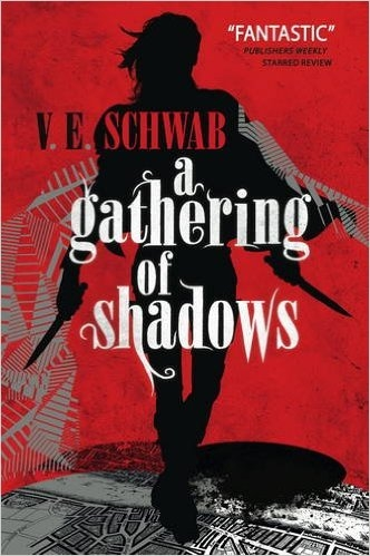 Couverture Shades of Magic, book 2 : A Gathering of Shadows