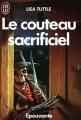 Couverture Le couteau sacrificiel Editions J'ai Lu (Epouvante) 1987